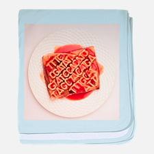 GM food, conceptual image - Baby Blanket