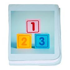 Number blocks - Baby Blanket