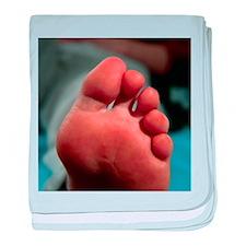 foot - Baby Blanket