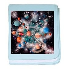 Solar system planets - Baby Blanket