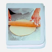 Rolling dough - Baby Blanket