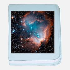 Starbirth region NGC 602 - Baby Blanket