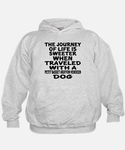 Traveled With petit basset griffon ven Hoodie