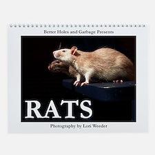 Rats Wall Calendar