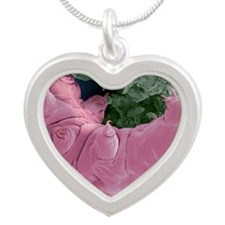 Tardigrade, SEM - Silver Heart Necklace