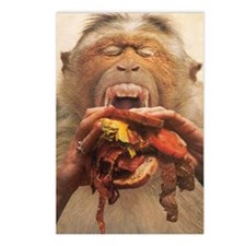 No More Fast Food Large Postcards (Package of 8)