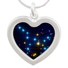 Ursa Major - Silver Heart Necklace
