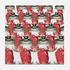 Artificial meat, conceptual image - Tile Coaster