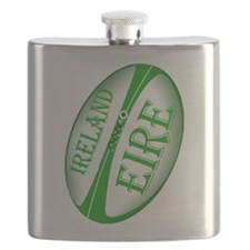 Irish Rugby Ball Flask