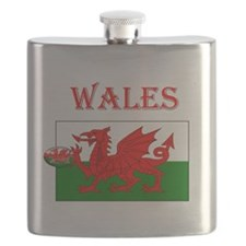 Wales Rugby Flask