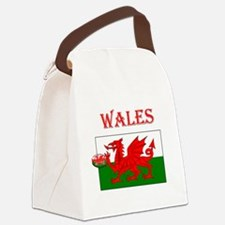 Wales Rugby Canvas Lunch Bag