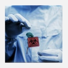 Environmental contamination - Tile Coaster