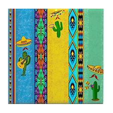 Mexican Musicians Tile