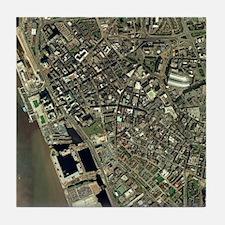 Liverpool, UK, aerial image - Tile Coaster