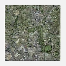 Southampton,UK, aerial image - Tile Coaster