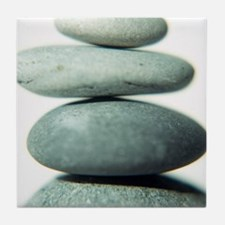 Stacked pebbles - Tile Coaster