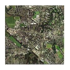 Stoke-on-Trent, UK, aerial image - Tile Coaster