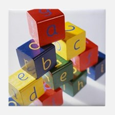 Alphabet toys - Tile Coaster