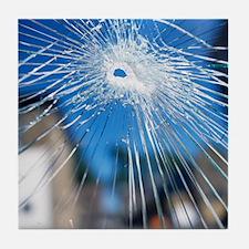 Broken glass - Tile Coaster