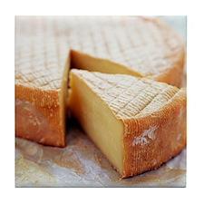 Camembert cheese - Tile Coaster