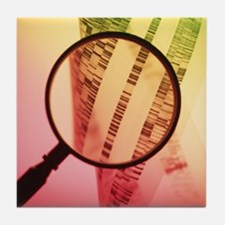DNA sequencing - Tile Coaster