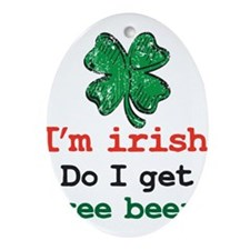 Im irish Ornament (Oval)