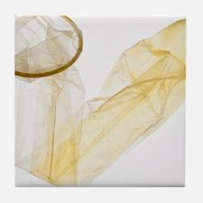 Condom - Tile Coaster