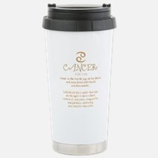 Cute Cancer astrology Travel Mug
