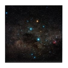 Crux constellation - Tile Coaster