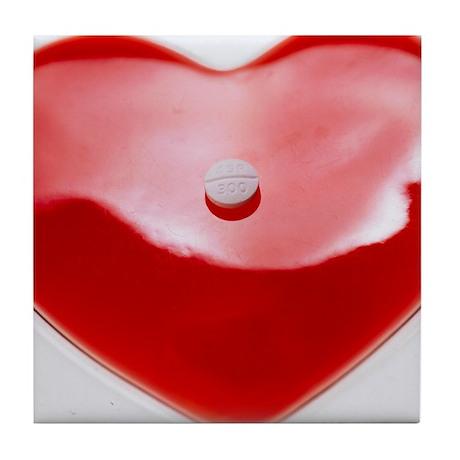 Unhealthy heart - Tile Coaster