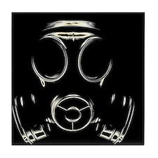 Gas mask - Tile Coaster