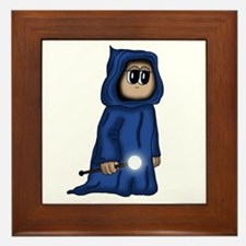 cute Gnome Mage Framed Tile