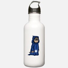 cute Gnome Mage Water Bottle