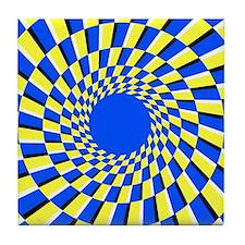Peripheral drift illusion - Tile Coaster