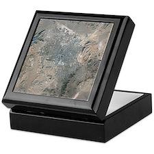 Las Vegas, satellite image, 2009 - Keepsake Box