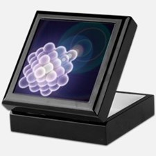 Platinum crystal, molecular model - Keepsake Box