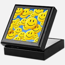 Smiley face symbols - Keepsake Box