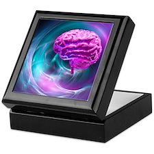 Brain research, conceptual artwork - Keepsake Box