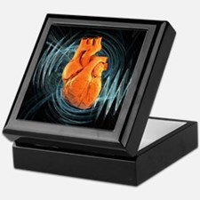 Heartbeat, conceptual artwork - Keepsake Box