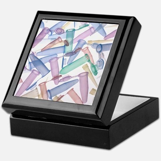 Pipette tips and sample tubes - Keepsake Box