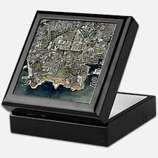 Plymouth, UK, aerial image - Keepsake Box