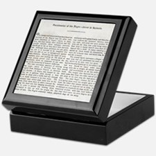 Punishment of Slaves text - Keepsake Box
