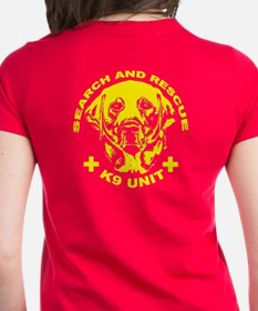 K9 unit yellow Tee