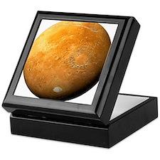 Mars, composite satellite image - Keepsake Box