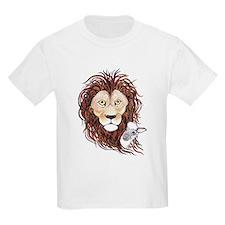Peek-a-boo lamb with lion T-Shirt