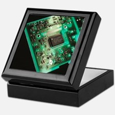 Computer circuit board - Keepsake Box