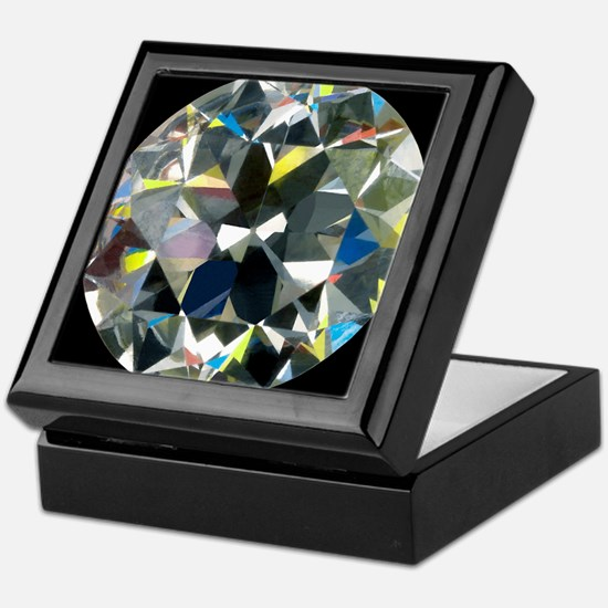 Cut and polished diamond - Keepsake Box