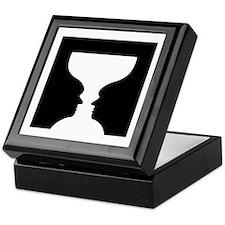 Goblet illusion - Keepsake Box