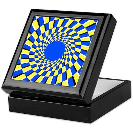 Peripheral drift illusion - Keepsake Box