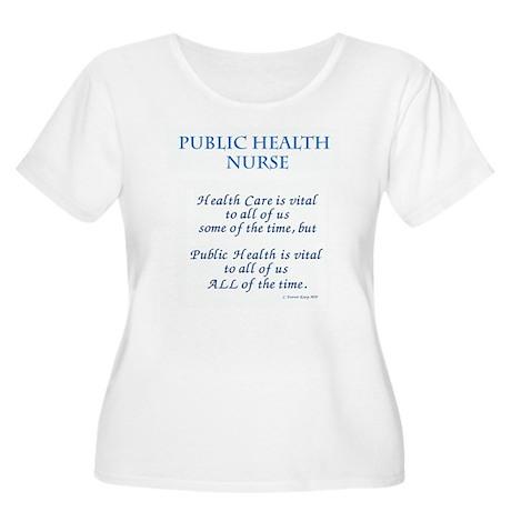 vital nurse Plus Size T-Shirt